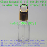 15ml 0.5oz Transparent essential oil glass dropper bottle (28)